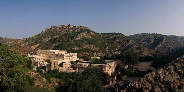 India - Rajasthan - Samode Palace - Overview