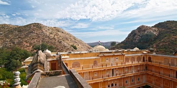 India - Rajasthan - Samode Palace - Palace