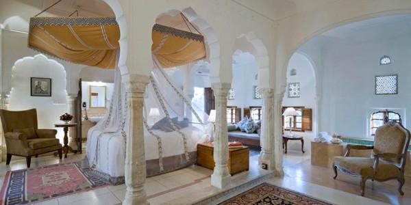 India - Rajasthan - Samode Palace - Room