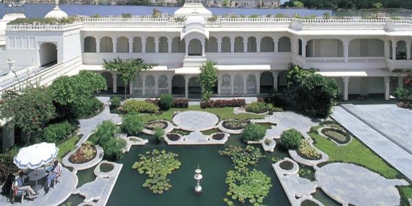 India - Rajasthan - Taj Lake Palace - Overview