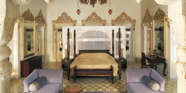India - Rajasthan - Taj Lake Palace - Room