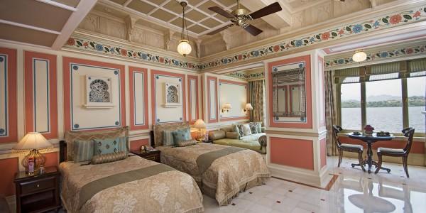 India - Rajasthan - Taj Lake Palace - Suite