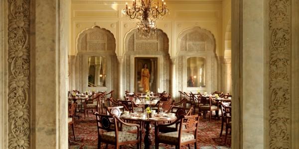 India - Rajasthan - Taj Rambagh Palace - Dining
