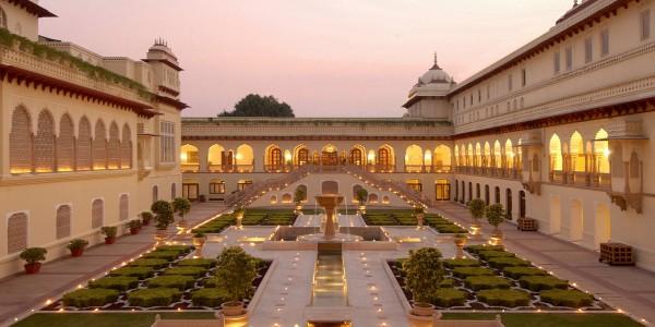 India - Rajasthan - Taj Rambagh Palace - Garden