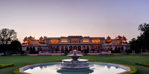 India - Rajasthan - Taj Rambagh Palace - Overview