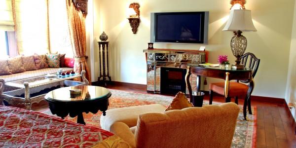 India - Rajasthan - Taj Rambagh Palace - Room 2