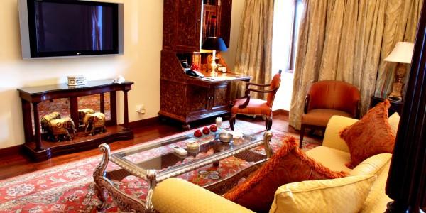 India - Rajasthan - Taj Rambagh Palace - Room
