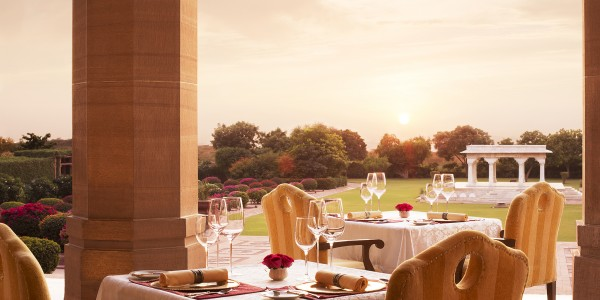 India - Rajasthan - Umaid Bhawan Palace - Dining