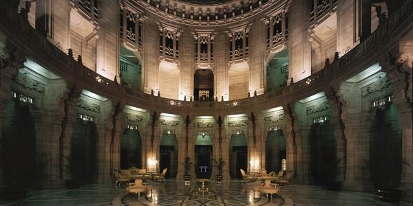 India - Rajasthan - Umaid Bhawan Palace - Lobby