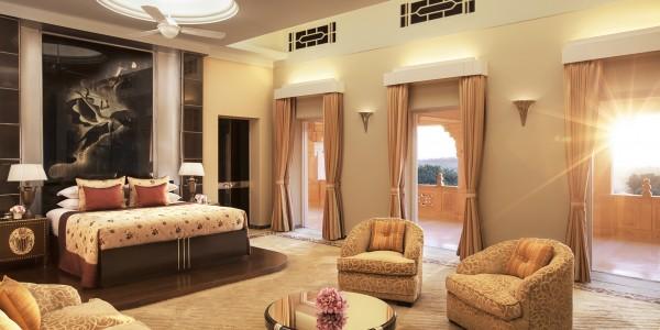 India - Rajasthan - Umaid Bhawan Palace - Maharani Suite