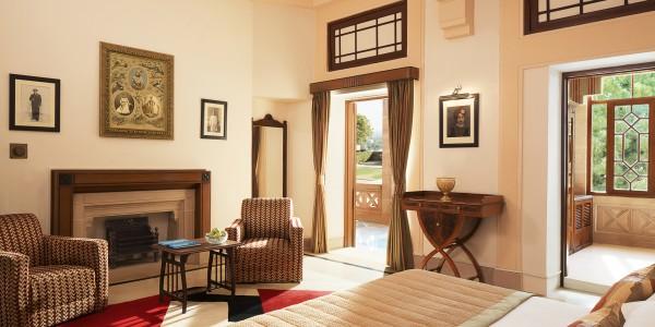 India - Rajasthan - Umaid Bhawan Palace - Palace Room