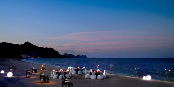 Oman - Muscat - Al Bustan Palace, A Ritz-Carlton Hotel - Beach