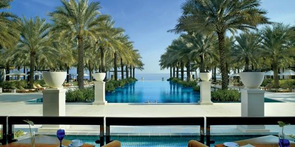 Oman - Muscat - Al Bustan Palace, A Ritz-Carlton Hotel - Pool