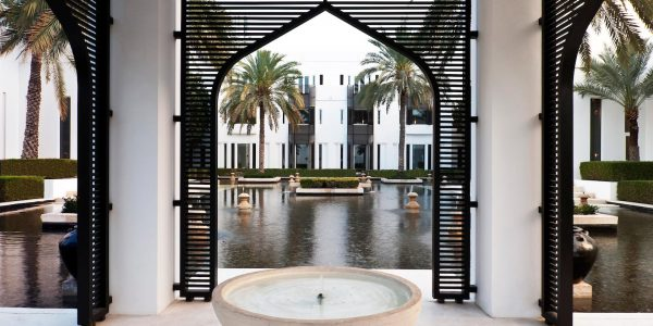 Oman - Muscat - The Chedi Muscat - Water Gardens