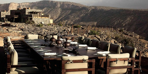 Oman - Nizwa & the Forts - Alila Jabal Akhdar - Restaurant