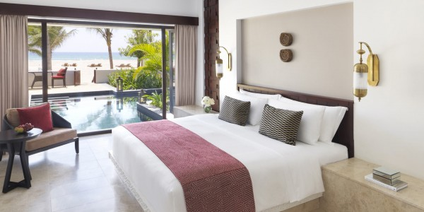 Oman - Salalah & the Dhofar Region - Al Baleed Resort Salalah by Anantara - Beach Pool Villa