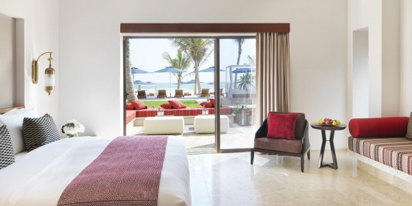 Oman - Salalah & the Dhofar Region - Al Baleed Resort Salalah by Anantara - Deluxe Beach View Room