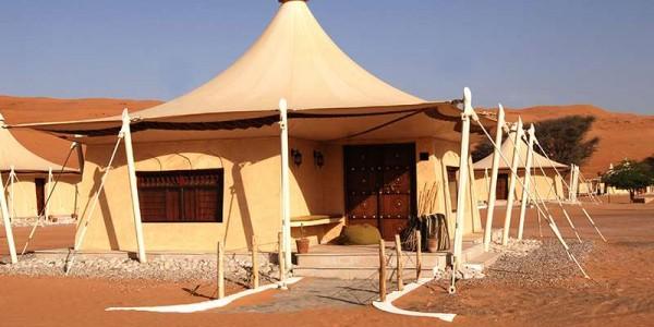 Oman - Wahiba Sands - Desert Nights Camp - Camp