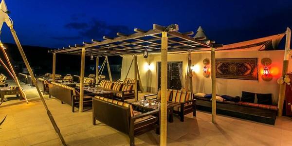 Oman - Wahiba Sands - Desert Nights Camp - Restaurant