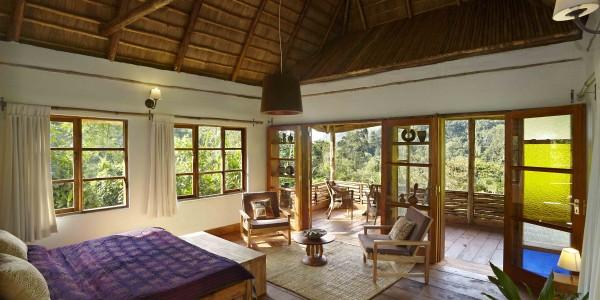 Uganda - Bwindi National Park - Volcanoes Bwindi Lodge - Banda