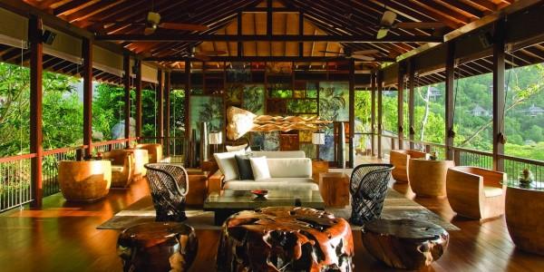 Indian Ocean - Seychelles - Four Seasons Resort Mahe - Lobby