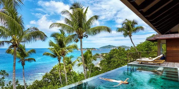 Indian Ocean - Seychelles - Six Senses Zyl Pazyon - Pool