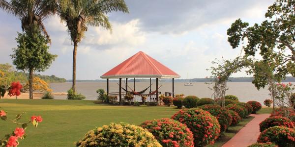 Guyana - Baganara Island - Baganara Island Resort - River