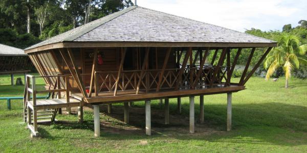 Guyana - Iwokrama Forest Reserve - Iwokrama River Lodge - Lodge