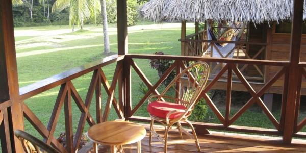 Guyana - Iwokrama Forest Reserve - Iwokrama River Lodge - Outside