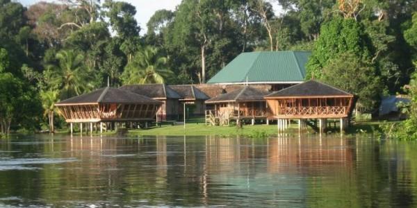 Guyana - Iwokrama Forest Reserve - Iwokrama River Lodge - Overview
