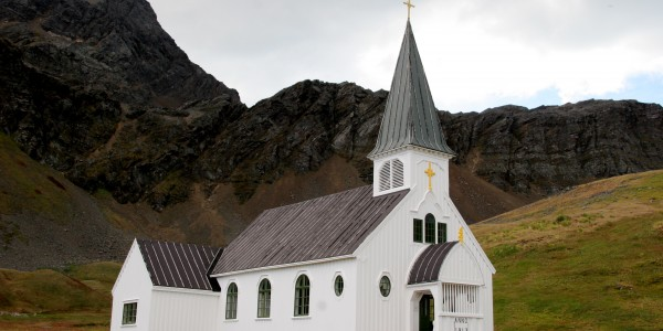 Antarctica - South Georgia - Oceanwide - Grytviken Church by Jan Bryde