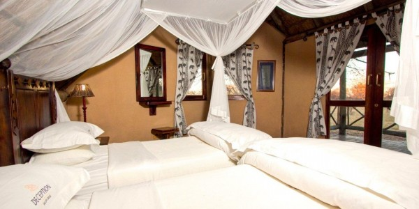 Botswana - Central Kalahari - Deception Valley Lodge - Room2