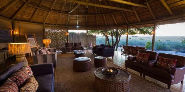 Botswana - Central Kalahari - Kalahari Plains Camp - Lounge