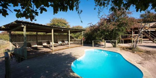 Botswana - Central Kalahari - Kalahari Plains Camp - Pool