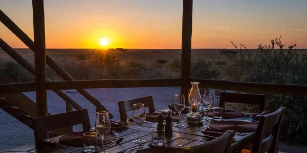 Botswana - Central Kalahari - Kalahari Plains Camp - Restaurant