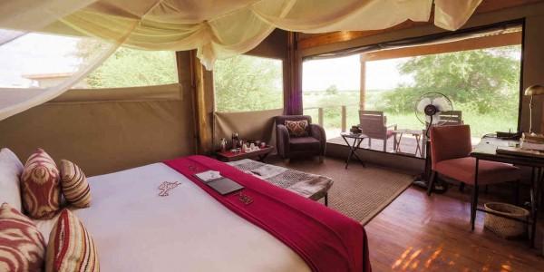 Botswana - Central Kalahari - Kalahari Plains Camp - Room