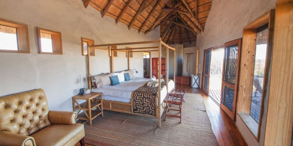 Botswana - Central Kalahari - Tau Pan Camp - Room