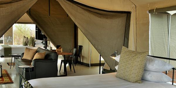Botswana - Chobe National Park - Ghoha Hills Savuti - Room