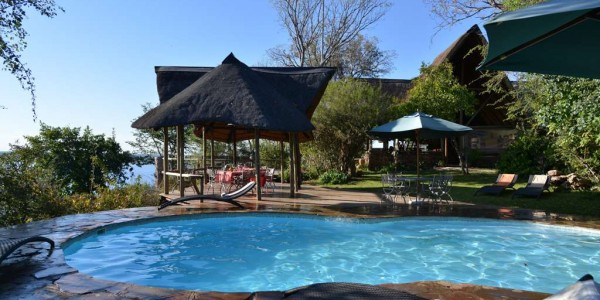 Botswana - Chobe National Park - Muchenje Safari Lodge - Pool