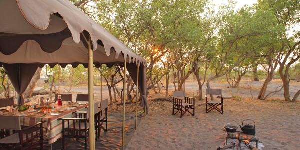 Botswana - Chobe National Park - andBeyond Chobe Under Canvas - Guest Area