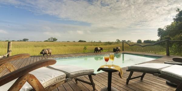 Botswana - Linyanti, Selinda & Kwando - Lebala Camp - Pool