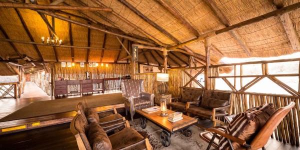 Botswana - Linyanti, Selinda & Kwando - Savuti Camp - Lounge