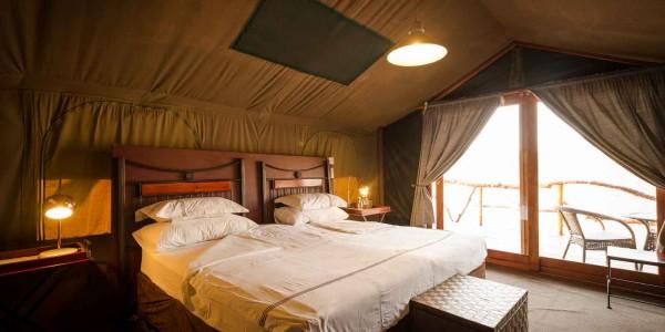 Botswana - Linyanti, Selinda & Kwando - Savuti Camp - Room
