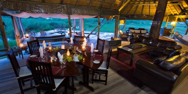 Botswana - Linyanti, Selinda & Kwando - Selinda Camp - Dining