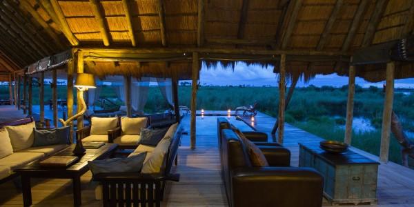 Botswana - Linyanti, Selinda & Kwando - Selinda Camp - Lounge
