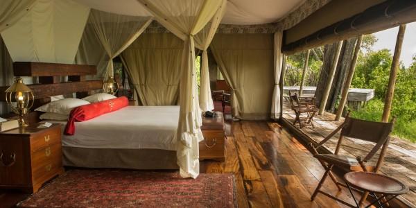 Botswana - Linyanti, Selinda & Kwando - Zarafa Camp - Room