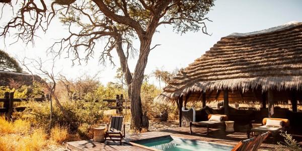 Botswana - Makgadikgadi - Camp Kalahari - Pool