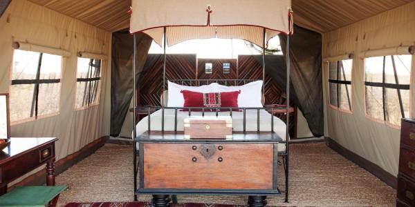 Botswana - Makgadikgadi - Camp Kalahari - Room