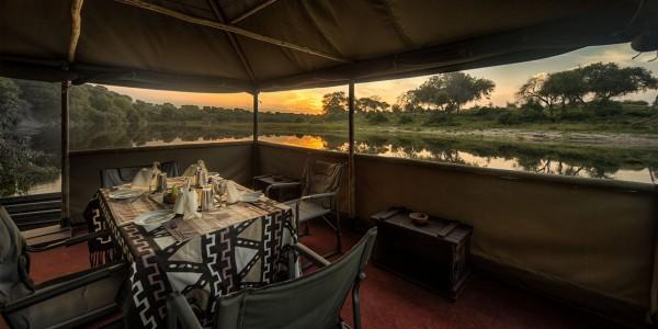 Botswana - Makgadikgadi - Meno a Kwena - Tent