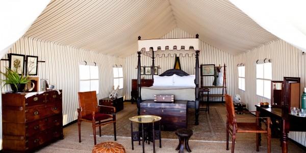 Botswana - Makgadikgadi - San Camp - Inside